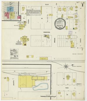 Primary view of object titled 'Groesbeck 1901 Sheet 1'.