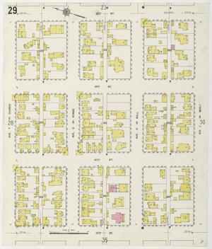 Primary view of object titled 'Galveston 1912 Sheet 29'.