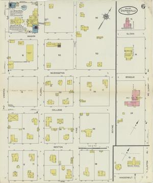 Primary view of object titled 'Stephenville 1912 Sheet 6'.
