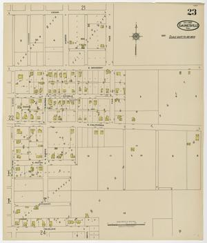 Primary view of object titled 'Gainesville 1922 Sheet 23'.