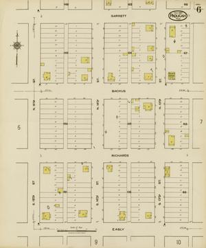 Primary view of object titled 'Paducah 1921 Sheet 6'.