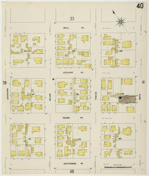 Primary view of object titled 'Houston 1907 Vol. 1 Sheet 40'.
