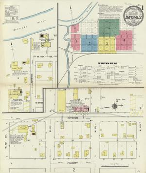 Primary view of object titled 'Smithville 1909 Sheet 1'.