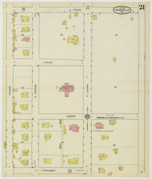 Primary view of object titled 'Gainesville 1913 Sheet 21'.