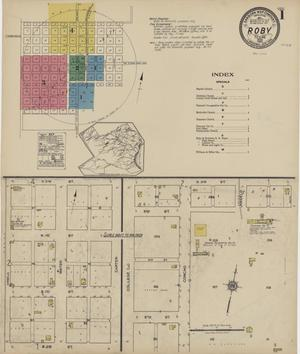 Primary view of object titled 'Roby 1922 Sheet 1'.