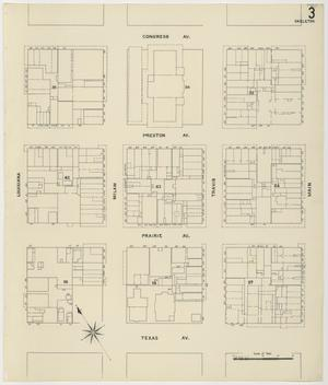 Primary view of object titled 'Houston 1907 Vol. 1 Sheet 3 (Skeleton Map)'.