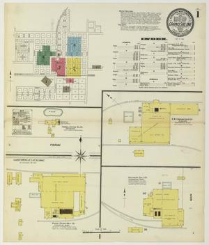 Primary view of object titled 'Grand Saline 1909 Sheet 1'.