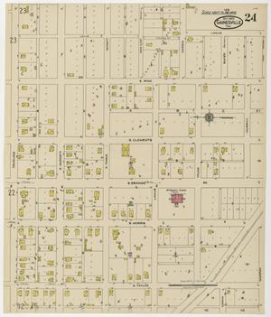 Primary view of object titled 'Gainesville 1922 Sheet 24'.