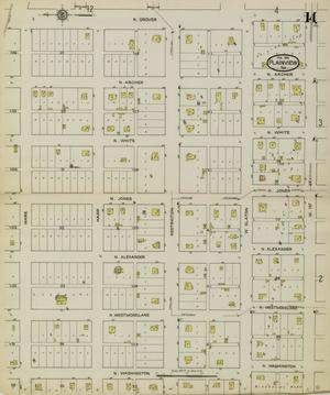 Primary view of object titled 'Plainview 1914 Sheet 14'.