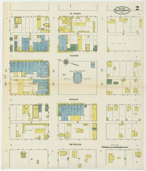 Primary view of object titled 'Goldthwaite 1909 Sheet 2'.