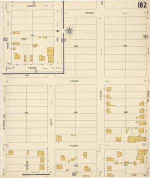 Primary view of object titled 'San Antonio 1904 Vol 2 Sheet 182'.