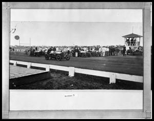 Primary view of object titled 'Automobile Racing'.