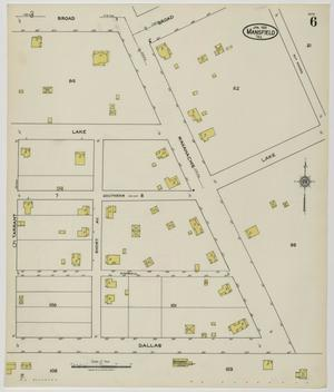 Primary view of object titled 'Mansfield 1921 Sheet 6'.