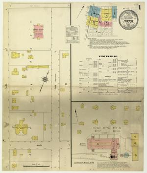 Primary view of object titled 'Itasca 1912 Sheet 1'.