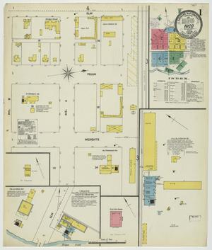 Primary view of object titled 'Hico 1903 Sheet 1'.