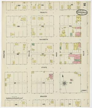Primary view of Groesbeck 1891 Sheet 2