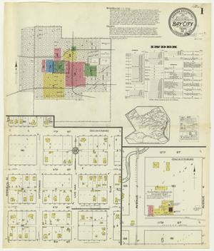 Primary view of object titled 'Bay City 1917 Sheet 1'.