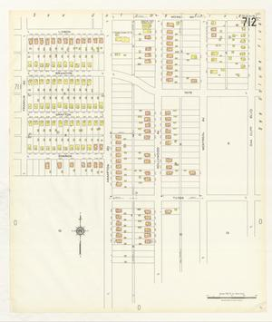 Primary view of object titled 'Dallas 1927 Sheet 712'.