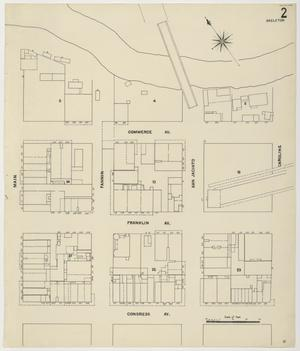 Primary view of object titled 'Houston 1907 Vol. 1 Sheet 2 (Skeleton Map)'.
