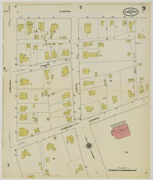 Primary view of object titled 'Longview 1911 Sheet 9'.
