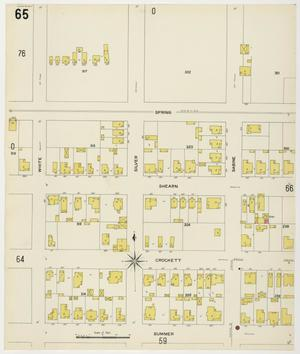 Primary view of object titled 'Houston 1907 Vol. 2 Sheet 65'.