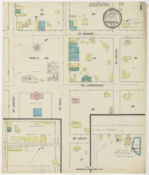 Primary view of object titled 'Gonzales 1891 Sheet 1'.