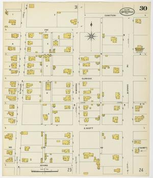 Primary view of object titled 'Gainesville 1908 Sheet 30'.