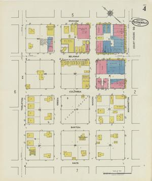Primary view of object titled 'Stephenville 1921 Sheet 4'.
