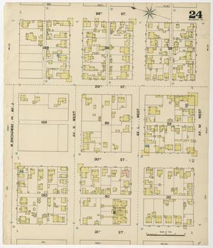 Primary view of object titled 'Galveston 1889 Sheet 24'.