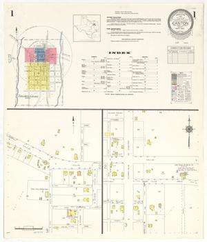 Primary view of object titled 'Canton 1941 Sheet 1'.