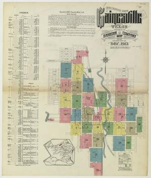 Primary view of object titled 'Gainesville 1913 Sheet 1'.