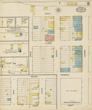 Primary view of object titled 'Quanah 1892 Sheet 2'.
