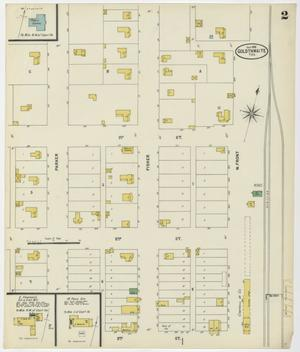 Primary view of object titled 'Goldthwaite 1898 Sheet 2'.