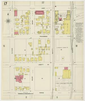 Primary view of Houston 1907 Vol. 2 Sheet 17