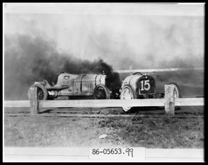 Primary view of object titled 'Auto Race Crash'.