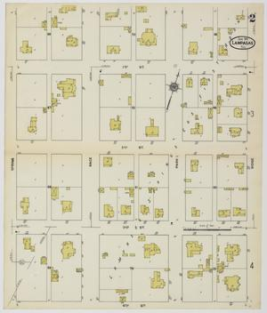 Primary view of object titled 'Lampasas 1912 Sheet 2'.