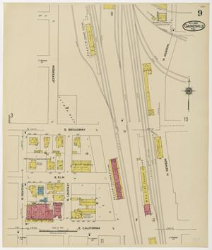 Primary view of object titled 'Gainesville 1922 Sheet 9'.