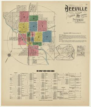Primary view of object titled 'Beeville 1922 Sheet 1'.