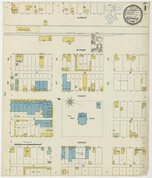 Primary view of object titled 'Goldthwaite 1898 Sheet 1'.