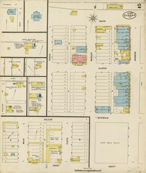 Primary view of object titled 'Quanah 1898 Sheet 2'.