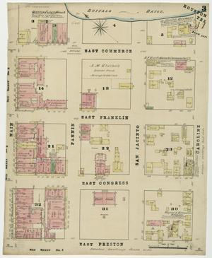 Primary view of object titled 'Houston 1877 Sheet 3'.