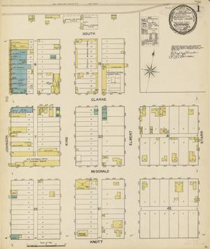Primary view of object titled 'Quanah 1892 Sheet 1'.