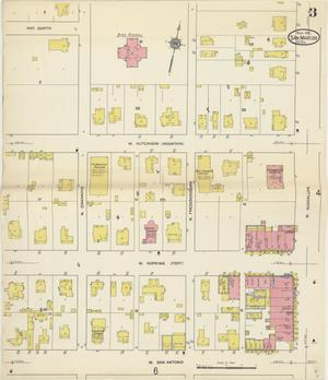 Primary view of object titled 'San Marcos 1912 Sheet 3'.