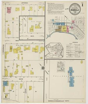Primary view of object titled 'Kerrville 1916 Sheet 1'.