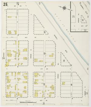Primary view of object titled 'Galveston 1912 Sheet 25'.