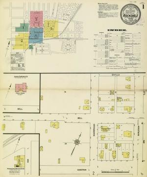 Primary view of object titled 'Rockdale 1912 Sheet 1'.
