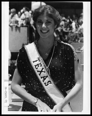 Primary view of object titled 'Portrait of Miss Texas'.