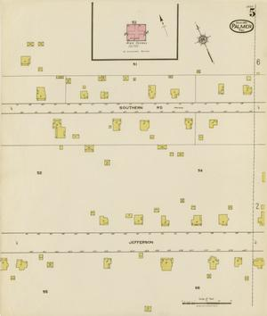 Primary view of object titled 'Palmer 1921 Sheet 5'.