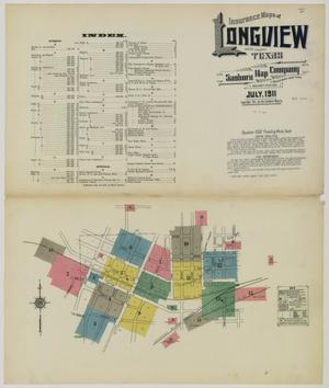 Primary view of object titled 'Longview 1911 Sheet 1'.