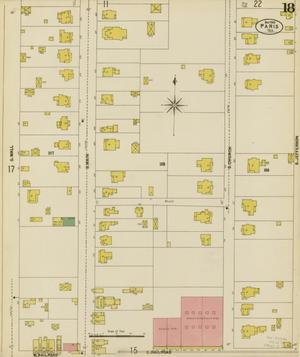 Primary view of object titled 'Paris 1902 Sheet 18'.